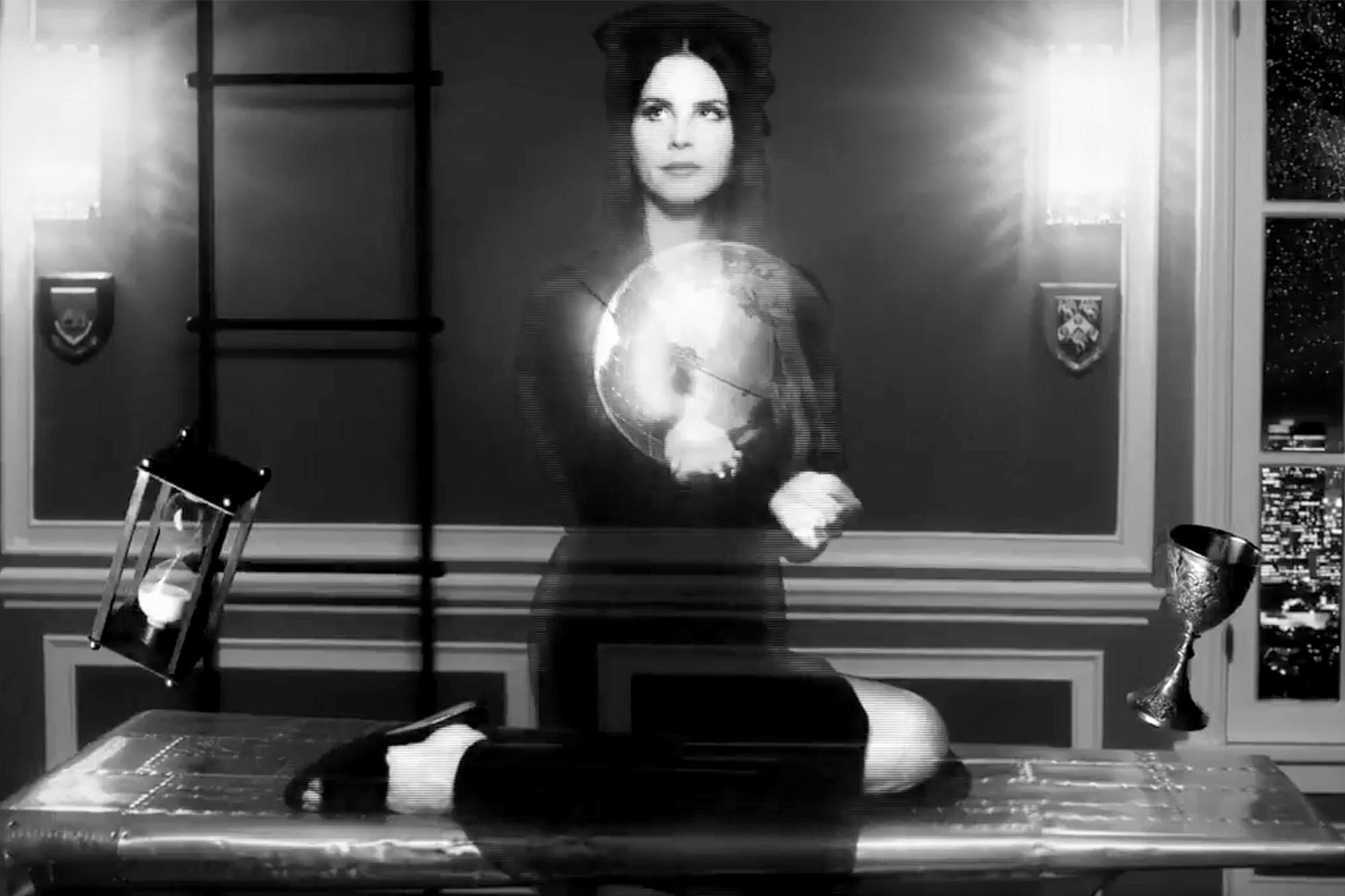 Lana Del Rey Shares Cute Artwork For New Album Lust For Life Shebops